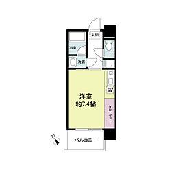 アーデンタワー神戸元町[0905号室]の間取り