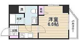 京成押上線 京成立石駅 徒歩10分の賃貸マンション 12階1Kの間取り
