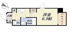 ファーストレジデンス大阪ベイサイド[3階]の間取り