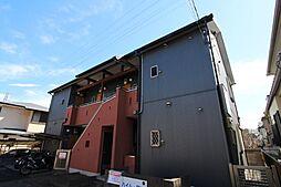 東京都東久留米市本町1丁目の賃貸アパートの外観
