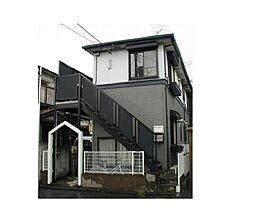 神奈川県横浜市港北区樽町1の賃貸アパートの外観