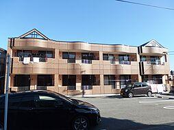 愛知県岡崎市上六名3丁目の賃貸アパートの外観