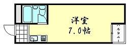 イズミステージ天王寺石ヶ辻[5005号室]の間取り