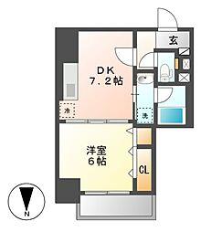 笹島アイサンメゾン[5階]の間取り