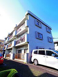 東京都東大和市高木2丁目の賃貸マンションの外観