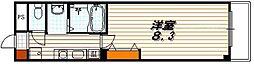 マジョール東山[1階]の間取り