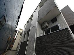 愛知県名古屋市北区下飯田町1丁目の賃貸アパートの外観