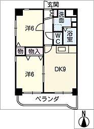セラン千種[3階]の間取り