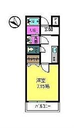フジパレス下池田パセオ[2階]の間取り
