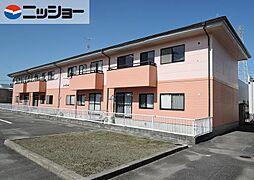 コーポファミールA棟[2階]の外観