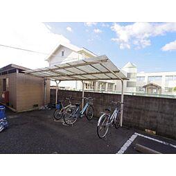 奈良県奈良市法蓮町の賃貸マンションの外観
