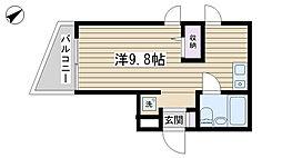 クレスト駒込[303号室]の間取り