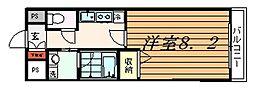 神興レジデンス[7階]の間取り