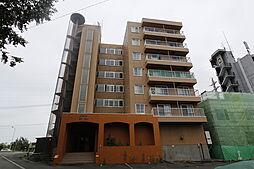 北海道札幌市白石区北郷四条1丁目の賃貸マンションの外観