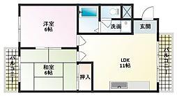 アスク八島[3階]の間取り