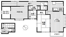 佐々木邸貸家[2階号室]の間取り