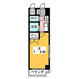プロビデンス御器所[3階]の間取り
