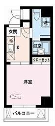 レジディア大井町[12階]の間取り