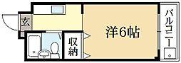 メゾンLee[1階]の間取り