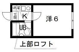 サンシャトー桜ヶ丘[305号室号室]の間取り