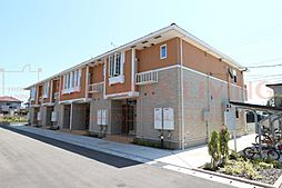 福岡県古賀市谷山の賃貸アパートの外観