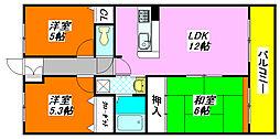 プリマベーラ・ブリッサ 305号室[3階]の間取り
