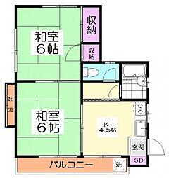 10574[2階]の間取り