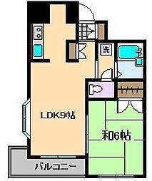 ヒルズ西竹ノ塚[3階]の間取り