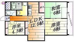 スペースビュー[3階]の間取り
