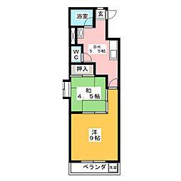 新日ビル豊明マンション[7階]の間取り