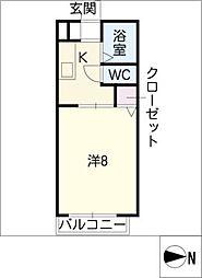 ひまわり館 Sunami[2階]の間取り