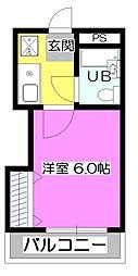 プチメゾン彩[2階]の間取り