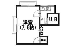 KMマンション[302号室]の間取り