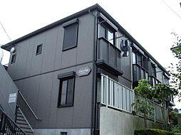 埼玉県川口市新井宿の賃貸アパートの外観