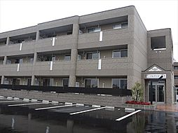 広島県東広島市西条町助実の賃貸マンションの外観