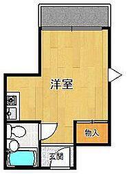 グレイスマンション1番館[3階]の間取り