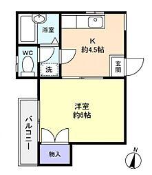 タウンハウス習志野台II[2階]の間取り