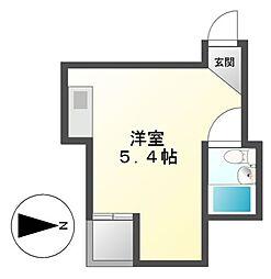 ALEGRIA PLACE徳川町[2階]の間取り