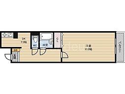 千寿シーク3[2階]の間取り