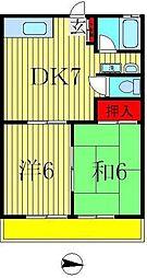 高田田口ハイツ[103号室]の間取り