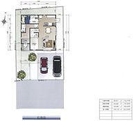 建築プラン例(19号地)建物価格:1、780万円、建物面積:100.19平米