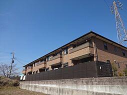 兵庫県西宮市山口町下山口の賃貸アパートの外観