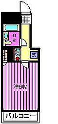 日神パレステージ浦和[702号室]の間取り