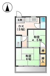 大蔵ビル[2階]の間取り