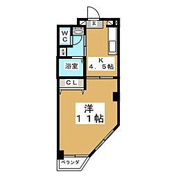 第1ジーオンビル[5階]の間取り