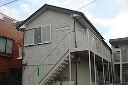 神奈川県川崎市幸区東古市場の賃貸アパートの外観