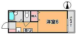フルール22[2階]の間取り