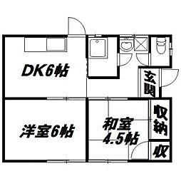 [一戸建] 静岡県浜松市南区高塚町 の賃貸【/】の間取り