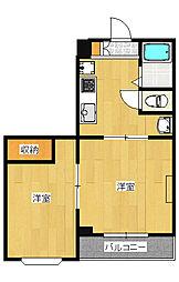 ルベール60[3階]の間取り