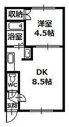 東川東町2 3.3万円